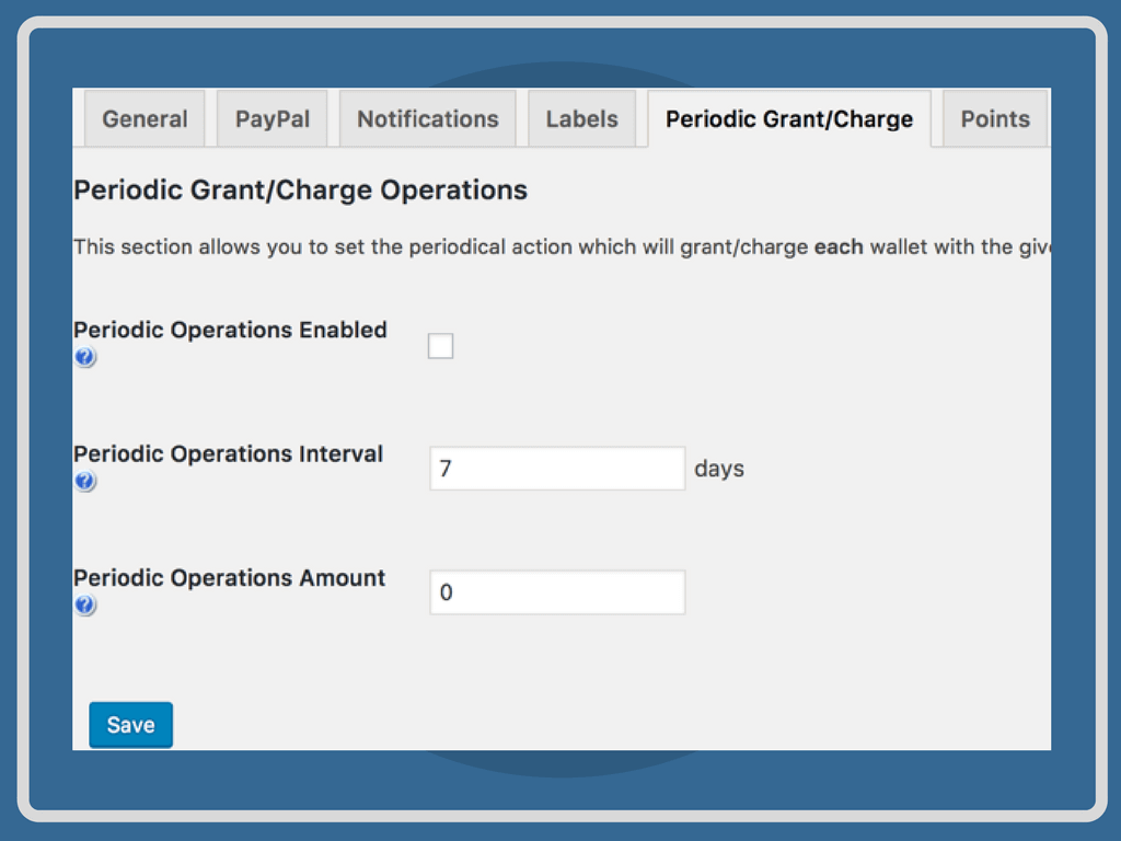 Automatically Add Points to a User's Wallet