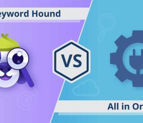 All In One SEO vs. SEO Keyword Hound: A Comparison