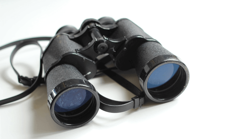 An image of binoculars, used to represent searching for great Magento extensions