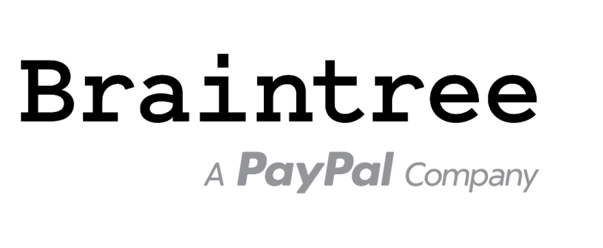 Image for the brand logo for Braintree, a compatible Magento payment gateway