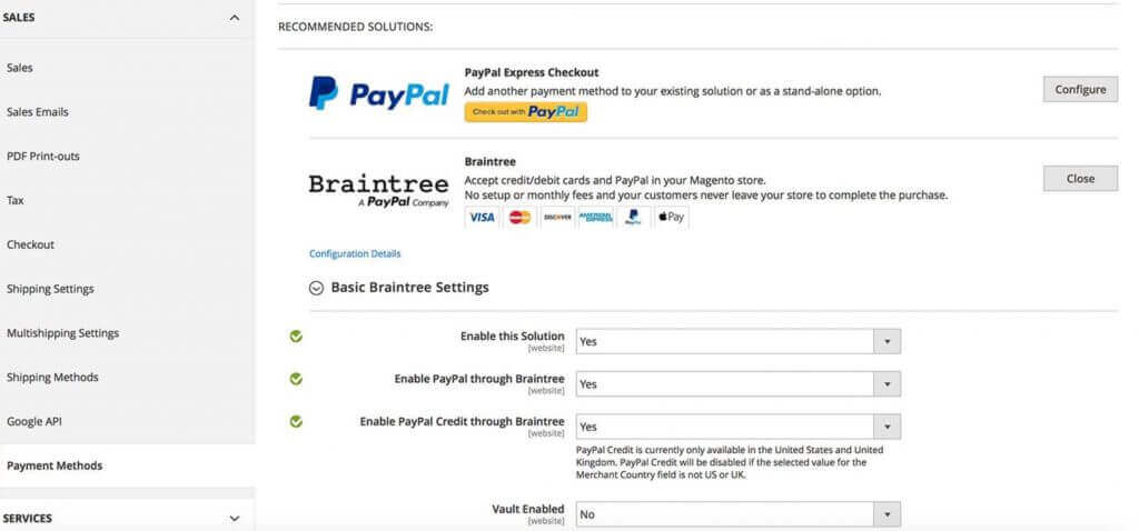 Braintree Payments - Vendor, Order Management and More - Top 5 Magento Extensions in 2020