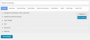 CM Download Manager - Back-end Screenshot - 7