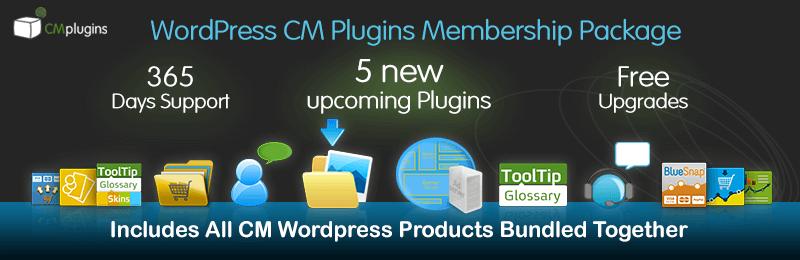 Get 15% off the CM WordPress Plugins Toolkit!
