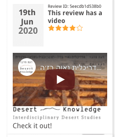 Review with embedded video