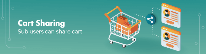 Cart-Sharing- Magento 2 Multi User Sliders