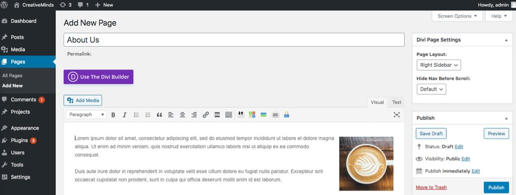 What is the WordPress Backend? Screenshot - How To Make The WordPress Backend Easier to Use