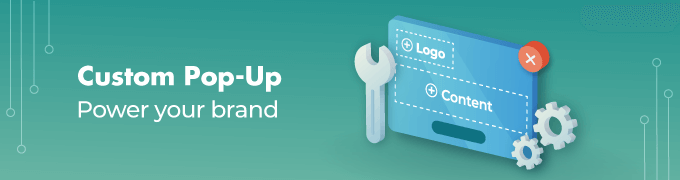 Custom Popup feature slider
