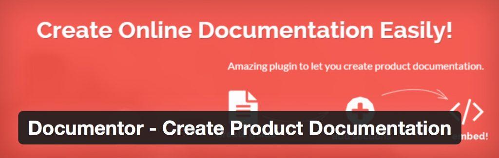 Documentor -5 Dependable WordPress Documentation Plugins