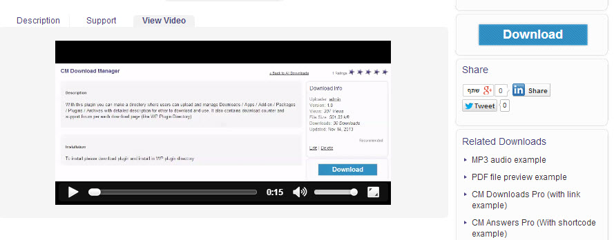 Download Manager Video - Overview of Our WordPress Download Manager Plugin