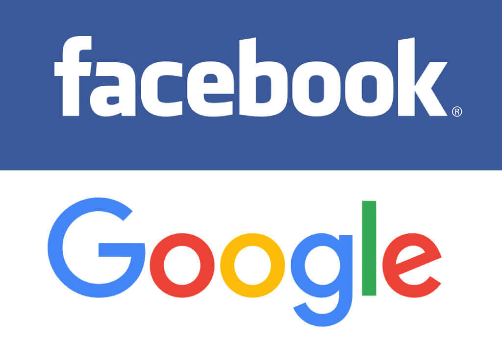 Facebook and Google Login