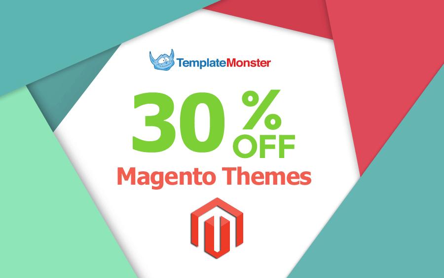 Save 30% on Magento Themes