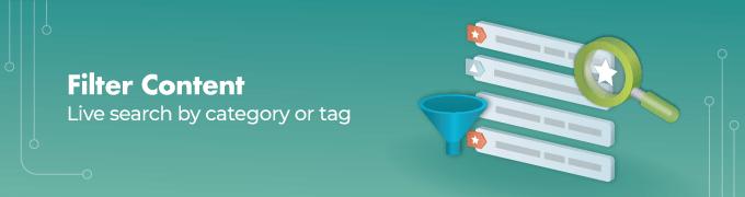 Filter-Content - Curated List WordPress Plugin Slider