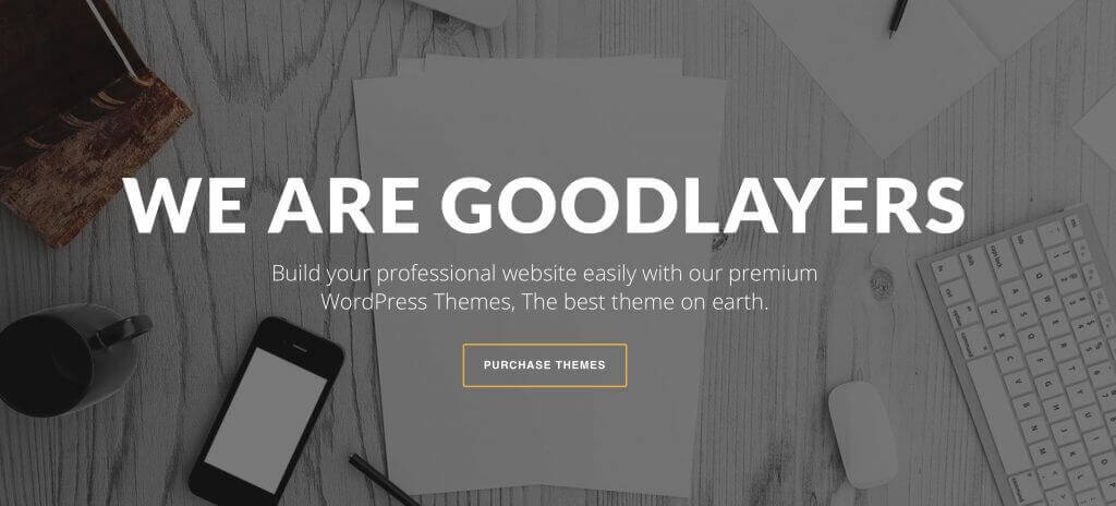 Goodlayers Page Builder - 5 Best WordPress Page Builders You Should Consider