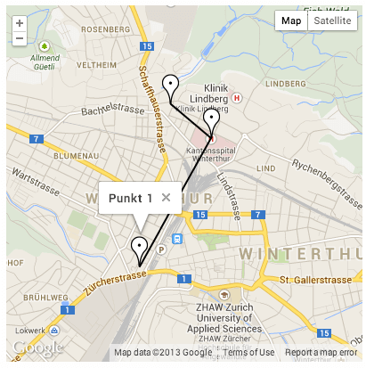 Google Maps Travel Route WordPress plugin - Free - Top Plugins to Show Routes and Trails on a Map