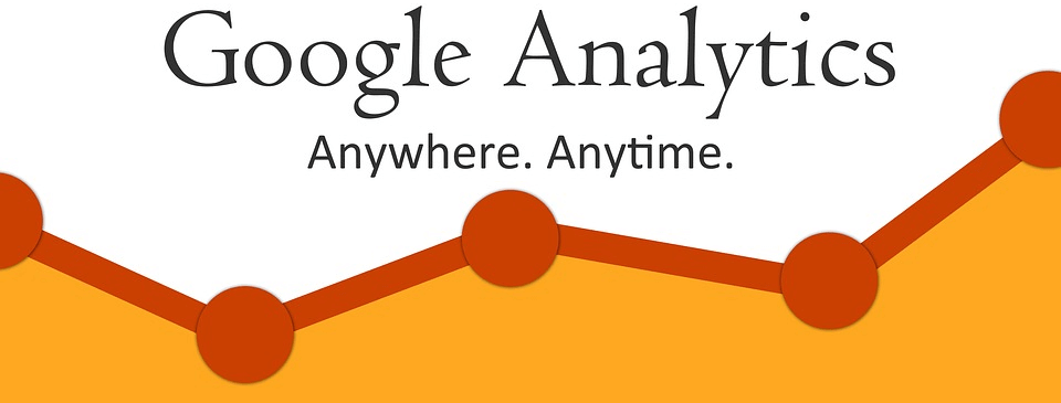 Logo for the Google Analytics application integrated with Magento 2.2