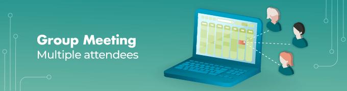 Group-Meeting- Booking Calendar Slider