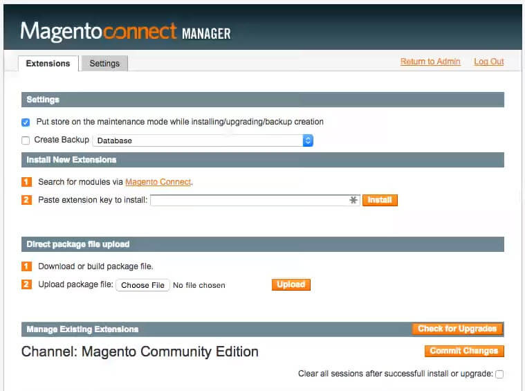 Magento connect - Down to The Basics: How to Install a Magento 1 Extension