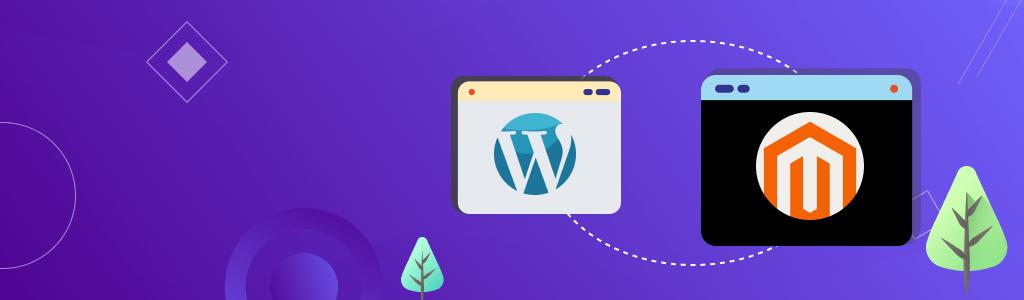 Illustrative Banner Blog Security - WordPress Vs. Magento - CreativeMinds