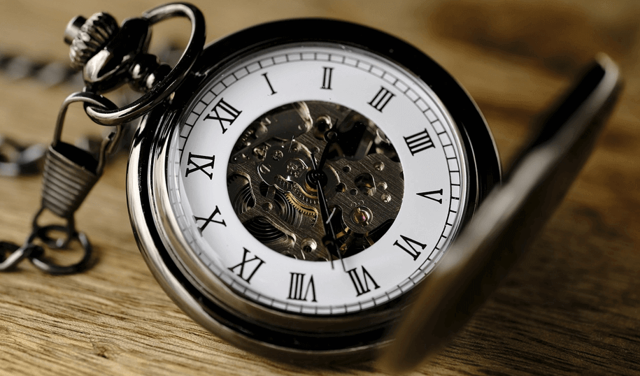 Image of a stopwatch to emphasize timely importance of migrating Magento