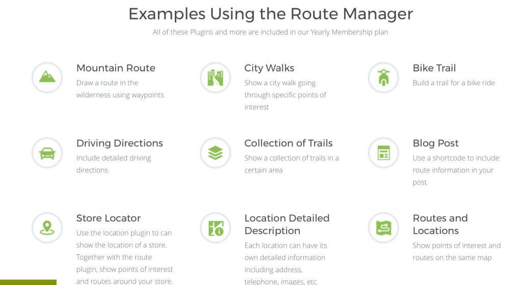 Examples using Map Routes Manager plugin - Introducing the Routes Manager – PeepSo Integration AddOn