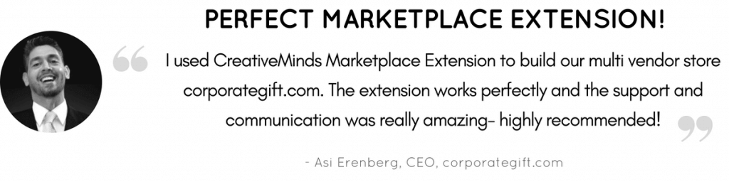Excellent Marketplace Extension Testimonial