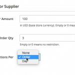 M2 Minimum Order Module Detail