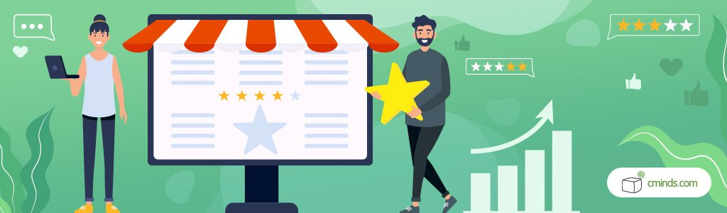 Let your Customers Represent your Products - Mage4 Surefire Ways to Improve your Ecommerce Product Pages in 2020nto_Improve_Company_Image_and_Customer_Relations_Illustrative_Banner