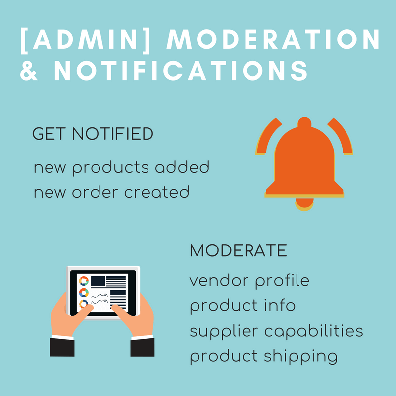 Admin Moderation and Notifications