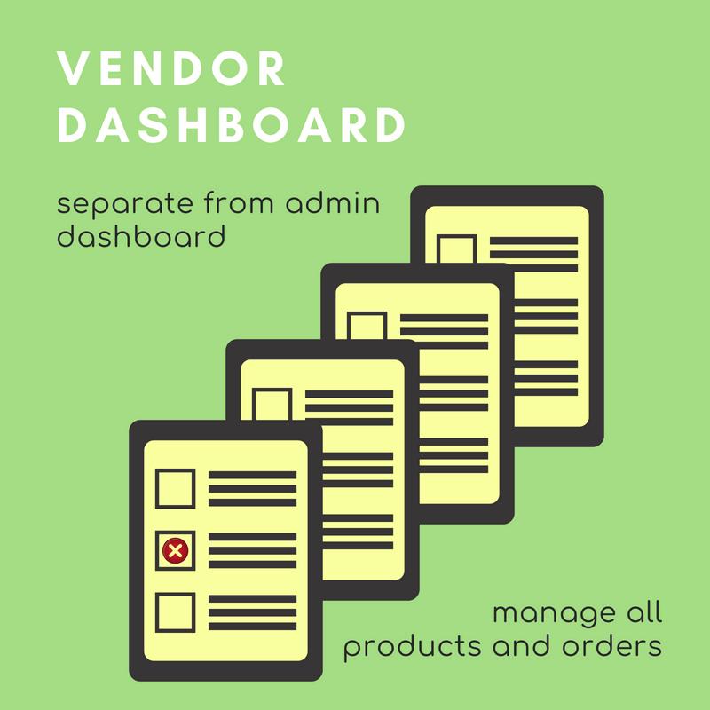 Vendor Dashboard