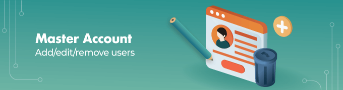 Master-Account- Magento 2 Multi User Sliders