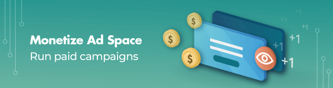 Monetize-Ad-Space- Ad Manager WordPress plugin