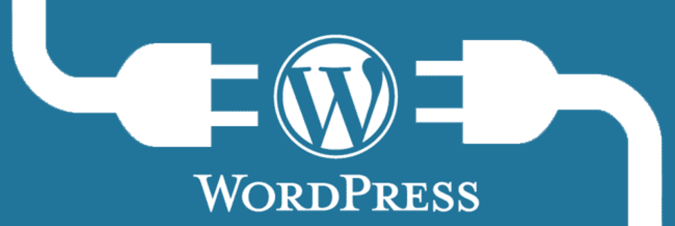 An image of the WordPress logo with outlets running toward it, representing plugins that monetize WordPress websites