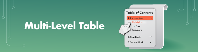Multi-Level-Table-2 - TOC Slider
