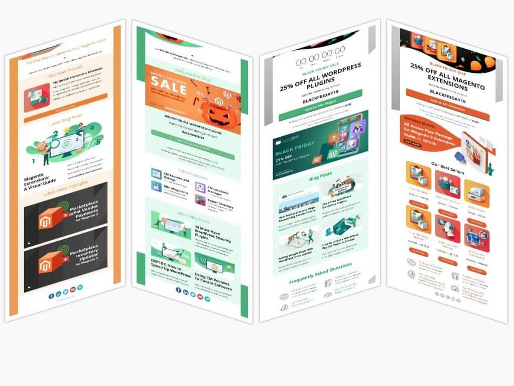 Newsletter Collage Samples