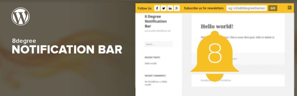 5 Necessary Notification Bar Plugins for WordPress