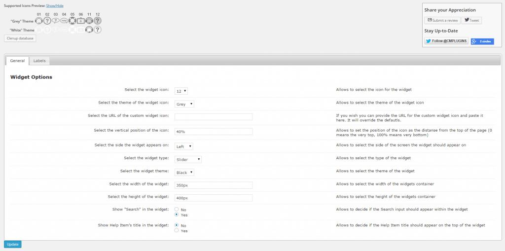 OnBoarding Settings - WordPress Help Desk Plugin - WordPress Help Desk Plugin by CreativeMinds