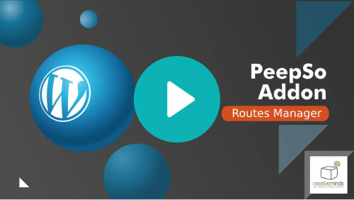 Peepso Addon Routes - Video tutorial - PeepSo: Make Your WordPress Website Social With These Top Add-ons