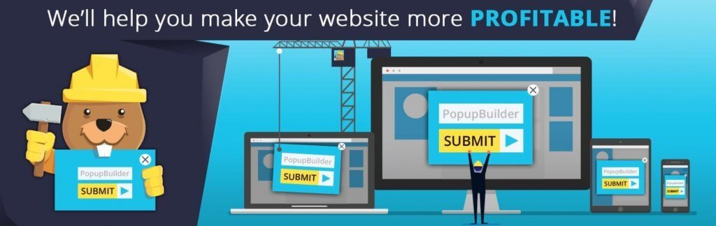 Pop-up Builder - Free Pop-Up WordPress Plugins You Can't Miss