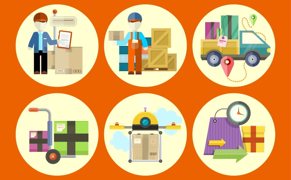 Image representing the improved shipping options in the Magento 2.2 update.