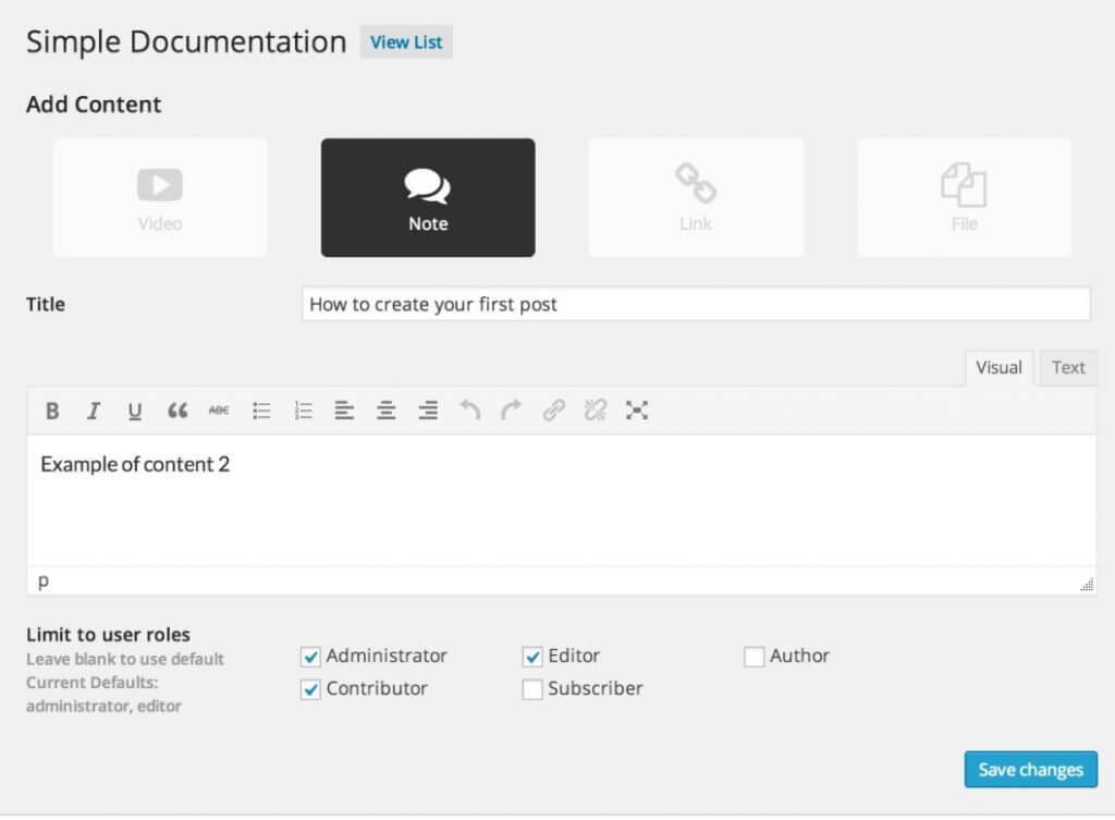 Simple_DocumentationScreen