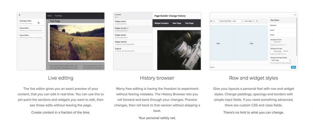 Page Builder by SiteOrigin - 5 Best WordPress Page Builders You Should Consider
