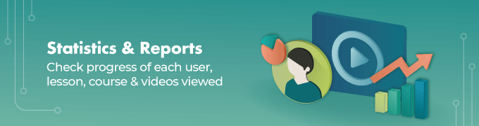 Statistics-_-Reports - Video Lesson Manager WordPress Plugin Slider