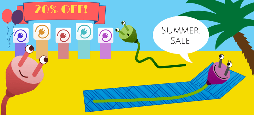 Summer SALE: 20% Off ALL WordPress And Magento Plugins, Extensions
