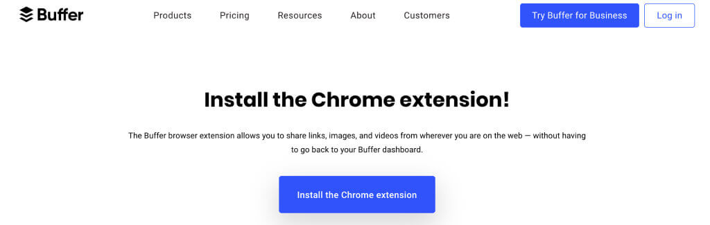 Buffer - Top 10 Chrome Extensions for Magento - 10 Best Browser, Chrome Extensions for Magento eCommerce Users