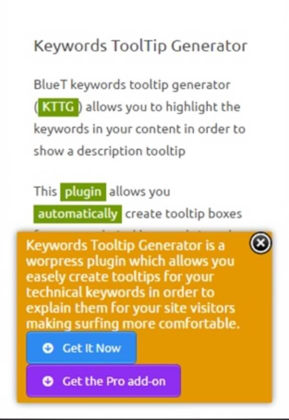 Tooltipy - The 5 Best Tooltip Glossary Plugins To Explain Terms In WordPress