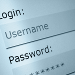 Image of a login screen to demonstrate WordPress users login and registration process