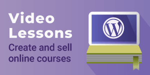 Video Lessons Manager WordPress