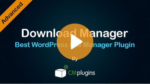 Download Manager - How to Create a Great WordPress File Sharing Directory with Download Manager Plugin- Video Tutorial - Creative Minds Blog