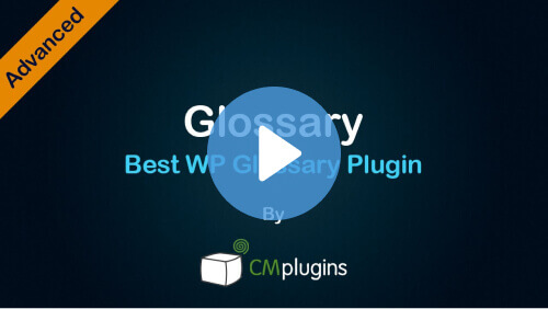 Glossary Tutorial - CM Tooltip eCommerce Video Demo - Creative Minds Blog