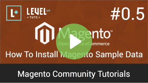 Install Magento SimpleData - The Ultimate Beginners Guide to Magento